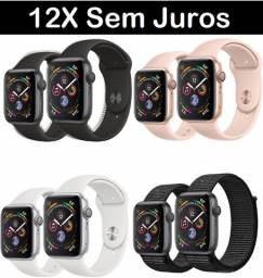 Apple Watch ( 12X Sem Juros + Nota Fsical) 38mm 40mm 42mm 44mm 3 4 5 6