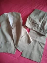 Conjunto calça e colete alfaiataria