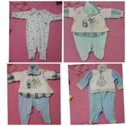 Roupas de bebê masculino