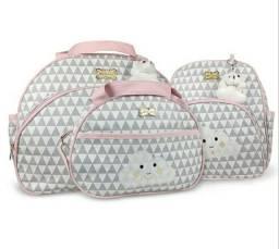 Kit Bolsa maternidade 2 ou 3 unidades - NOVA
