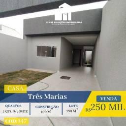 Casa De 3 Quartos - Setor 3 Marias - Goiânia
