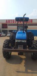 Trator New Holland Exitus 75  4x4 ano 2013