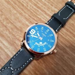 Relógio Importado - Pulseira em couro
