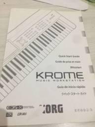 Teclado korg krome workstation 88 teclas