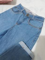 Título do anúncio: Calça jeans feminina 36 / rudá