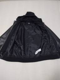 Jaqueta de couro masculina Zara