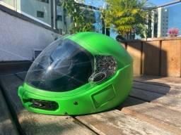 Capacete Kiss XL com case Paraquedismo Skydive