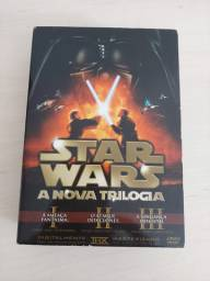 Star Wars - A Nova Trilogia - DVD Box