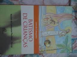 Livro batismo de crianças