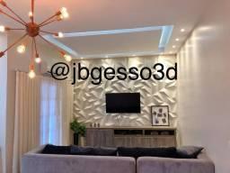 Revestimento 3D/ JB Gesso 3D
