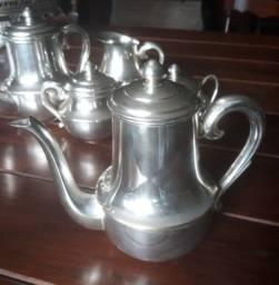 Jogo de Café em Prata antigo