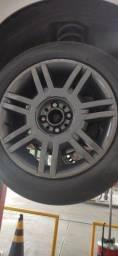 Título do anúncio: Rodas 16 com pneus bons