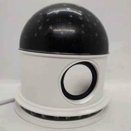 Abajur caixinha de som Céu Estrelado com Bluetooth