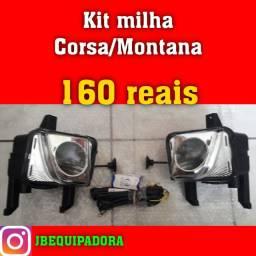 Kit milha Corsa Montana por 160 reais.
