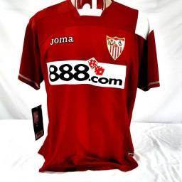 Camisa Sevilla Espanha Joma 2008/09 Futebol Original