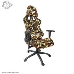 Cadeira Gamer Battle Red Nose - Camuflada | Dazz | Lacrada com garantia