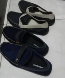 6 Pares de Sapatos Novos e Semi-Novos(4 de mulher e 2 de homem