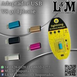 Adaptador V8 p/ Iphone