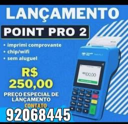 Point PRO2 lacrada, Imprimir comprovante Maquineta Maquineta Maquineta Maquineta