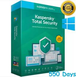 Kaspersky total security 2021 para windows-2 anos de ativação