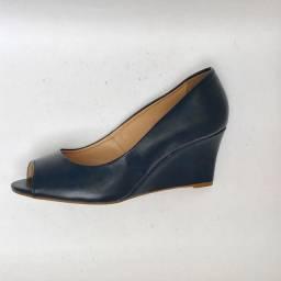 Sapato peep toe Anabela tam. 38