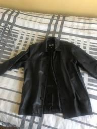 Título do anúncio: Jaqueta couro masculina tamanho m