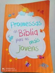 Livro promessas da Bíblia para os mais jovens