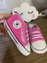 Título do anúncio: Tênis all star rosa pink TAM 19