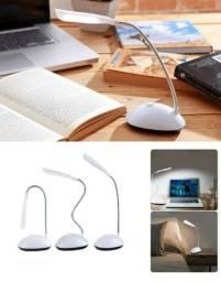 Título do anúncio: Luminaria Mesa Flexivel Sem Fio Led Mini Luz Iluminação