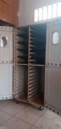 Título do anúncio: Descansador de pães, armário para masssas em geral.