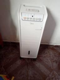 Climatizador Midea AKAF1/AKAF2 Ventila, Umidifica, Purifica com 3 Velocidades ? Branco<br><br>