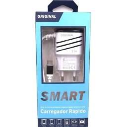 Título do anúncio: Celular: Carregador Rápido Smart 3.1A