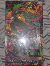 Placa de vídeo GTX 1050 TIPCIexpress3.0.   4GB.  128 BITS   OPENGL4.6 HDMI/DVI/DP