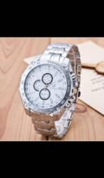 Relógio de Luxo Masculino de Quartzo/Relógio de Aço Inoxidável Geneva para Homens