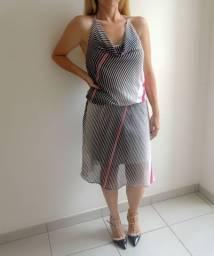 Vestido Listrado - Tam M