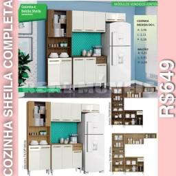 Armário armário armário de cozinha Sheila
