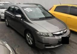 Potencia e economia Honda Civic Lxs 2010 Automatico Flex - 2010