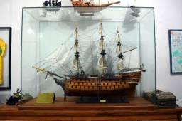 Réplica de último Galeão da Real Marinha Inglesa - 1,45 x 1,10 m
