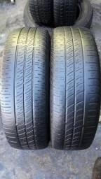 Par de pneu 175/70/14 Pirelli meia vida bom