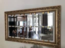 Quadro Espelhos dourado comprar usado  Rio de Janeiro