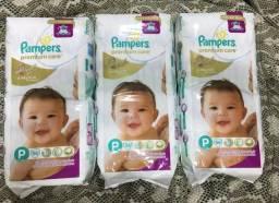 Fraldas Pampers Premium Care Tamanho P