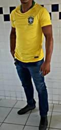 Camisa do brasil 50$ chama 999714799