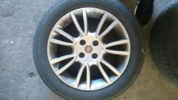 Rodas 16 originais do bravo + pneus bridgstone