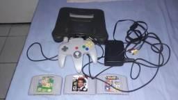 Nintendo 64 com jogos(leia tudo)