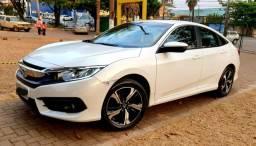 Aceita Troca Honda Civic EXL 2.0 Flex Automático Baixo Km - 2017