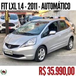 HONDA FIT 2011/2011 1.4 LXL 16V FLEX 4P AUTOMÁTICO - 2011