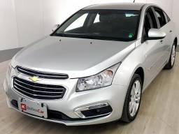 Chevrolet CRUZE LTZ 1.8 16V FlexPower 4p Aut. - Prata - 2016 - 2016