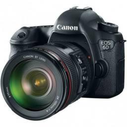 Câmera Canon EOS 6D EF 24-105mm (kit) 20.2Mp, Full Hd, Wifi, Gps