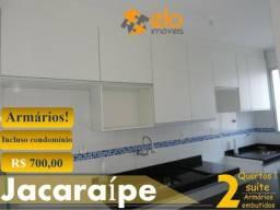 2 Quartos com suíte e armários embutidos em Jacaraípe