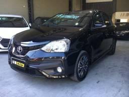 Toyota Etios Platinum 1.5 automático - 2018